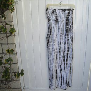 Allen Allen Tie-Dye Cotton Knit Dress XS